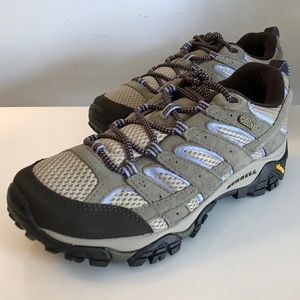 WOMEN'S MERRELL MOAB 2 WP HIKING SHOES DUSTY OLIVE